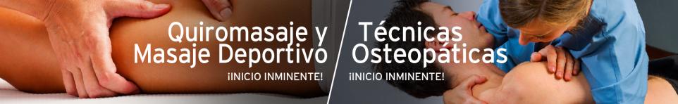 Quiromasaje y Masaje Deportivo / Técnicas Osteopáticas
